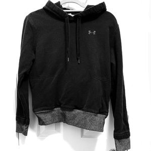 Under Armour Black Hoodie with Zipper Pockets